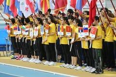 Bałkańskich atletyka Salowi mistrzostwa Zdjęcia Royalty Free