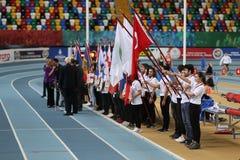 Bałkańskiej atletyki Salowi mistrzostwa w Istanbuł zdjęcia royalty free