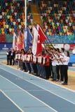 Bałkańskiej U20 atletyki Salowi mistrzostwa zdjęcia royalty free