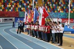 Bałkańskiej U20 atletyki Salowi mistrzostwa fotografia stock