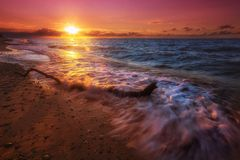 Bałtycka Plaża obraz stock