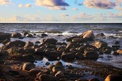 Bałtycki brzeg zdjęcia stock