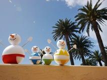 Bałwan plaży wakacje Obraz Stock
