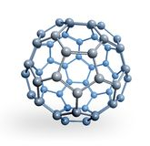 bańczasty molekuła rendering Zdjęcie Stock