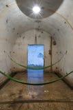 休息室大炮堡垒在猫Ba海岛 免版税库存图片