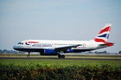 BA Airbus Fotos de archivo