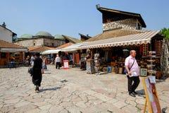 Baščaršija market in Sarajevo Royalty Free Stock Photography