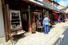 Baščaršija market in Sarajevo Royalty Free Stock Image