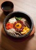 ba bibim食物韩文 免版税库存图片