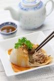 Ba blême, boulette méga bawan et taiwanaise Image libre de droits