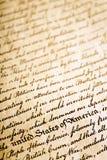 Ba di dichiarazione di indipendenza Immagini Stock Libere da Diritti