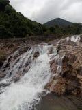 Ba Ho Waterfalls, Vietnam royalty free stock image