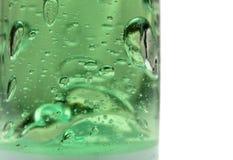 bańka zielone rurka Fotografia Royalty Free