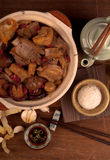 Ba kut teh. Malaysian stew of pork herbal soup Stock Photo
