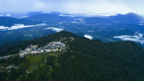 Ba Na小山在岘港市 库存照片