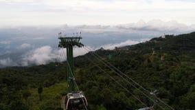 从Ba Na小山的看法,越南 库存图片