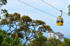 Ba Na cable car earns two Guinness records. Ba Na cable car system in the central city of Danang was awarded Guinness records for the longest and highest non royalty free stock images