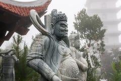 Ba Na Hills - Linh Phong Temple Royalty Free Stock Photography