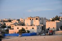 BA Negev, Ισραήλ Arara - κατοικημένα κτήρια σε Αραβικά στην τακτοποίηση Στοκ φωτογραφία με δικαίωμα ελεύθερης χρήσης