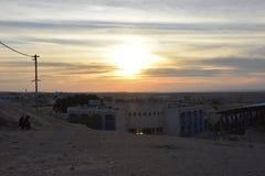 BA Negev, Ισραήλ Arara - κτήρια σε Αραβικά στην τακτοποίηση Στοκ φωτογραφία με δικαίωμα ελεύθερης χρήσης
