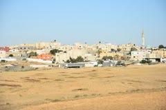 BA Negev, Ισραήλ Arara - κτήρια σε Αραβικά στην τακτοποίηση Στοκ Φωτογραφία