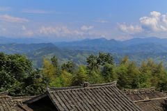 Ba sha miao village,guinzhou,china Royalty Free Stock Image
