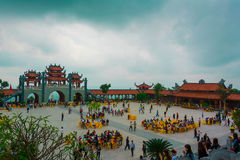 Ba Vang-Pagode Lizenzfreie Stockbilder