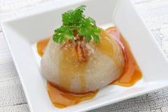 Ba wan,bawan,taiwanese mega dumpling. Street food stock images