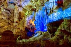 Baía longa do Ha. Dau vai caverna. Fotografia de Stock