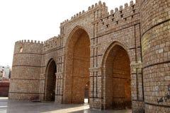Baab-makkah Tor in historischem Platz Dschidda Saudi-Arabien Dschidda-Albalads lizenzfreie stockbilder