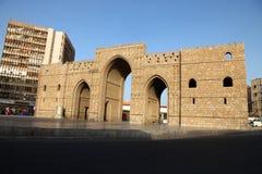 Baab-makkah Tor in historischem Platz Dschidda Saudi-Arabien Dschidda-Albalads stockbild