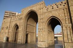 Baab-makkah Tor in historischem Platz Dschidda Saudi-Arabien Dschidda-Albalads lizenzfreies stockfoto