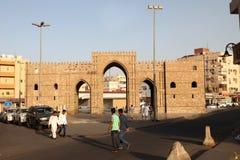 Baab makkahport i jeddah albalad det historiska stället Jeddah Saudiarabien 15-06-2018 Fotografering för Bildbyråer
