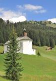 Baad, Kleinwalsertal, Vorarlberg, Oostenrijk royalty-vrije stock afbeeldingen