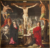 baaf大教堂在十字架上钉死绅士s st 免版税库存照片