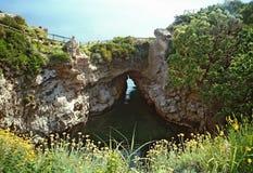 Baai bij Capo-Di Sorrento Stock Foto