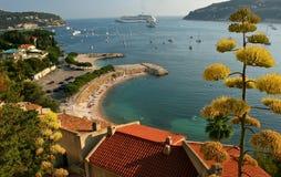 Baai in Nice. royalty-vrije stock foto's