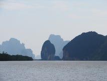 Baai phang-Nga Stock Afbeelding