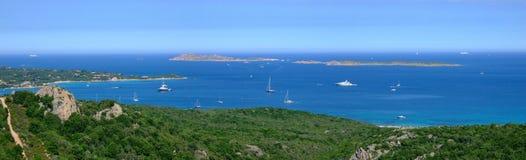 Baai in Sardinige Royalty-vrije Stock Foto