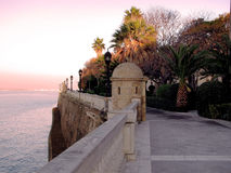 Baai van Cadiz royalty-vrije stock foto's