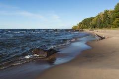 Baai van de Unie van het meer de Superieure Stock Foto's