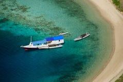 Baai van eiland Komodo Stock Afbeelding