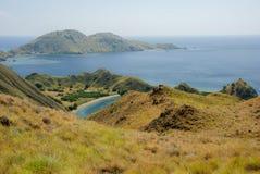 Baai van eiland Komodo Royalty-vrije Stock Foto