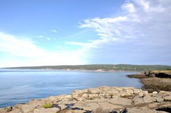 Baai van Fundy Royalty-vrije Stock Fotografie