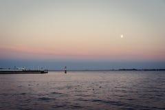 Baai van Gdansk, Polen Royalty-vrije Stock Afbeeldingen