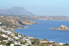 Baai van Kefalos op Kos-eiland Stock Afbeelding