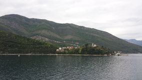 Baai van Kotor, Montenegro Stock Afbeelding