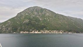 Baai van Kotor, Montenegro Stock Foto's