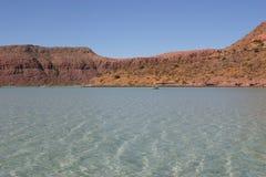 Baai van La Paz, Baja Royalty-vrije Stock Afbeelding