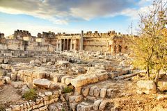Baalbeck Stock Photo